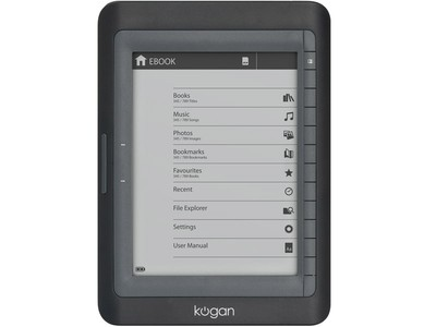 Kogan 6 ebook reader with ink screen